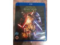 Star Wars the force awakens bluray