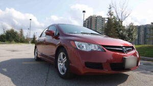 2006 Acura CSX Sedan Touring Automatic, Sunroof. ONLY 122KM!