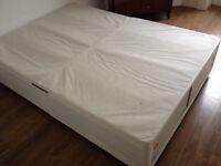 Divan Double Bed excellent condition