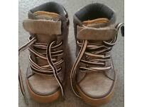 Toddlers canvas boots