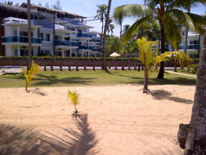For sale! Beach front condo at Las Terrenas, Samana