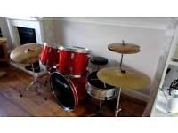 Dragon 8 piece drum set