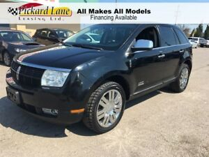 2008 Lincoln MKX ALL WHEEL DRIVE! LEATHER & SUNROOF!