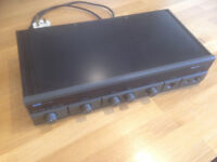 Arcam Alpha Stereo Amplifier: good condition, 6 inputs, 4 speakers connections.
