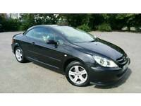 Peugeot 307 cc 2003 in black automatic
