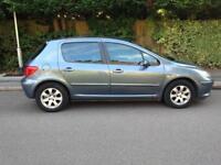 2005 Peugeot 307 1,6 litre 5dr