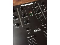 Numark M101 mixer black (brand new)