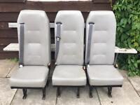 Van seats x3 (scot seats)