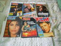 6 x Vintage Film Magazines from 1985