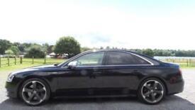 2013 13 AUDI A8 4.0 S8 TFSI QUATTRO 4D AUTO 513 BHP