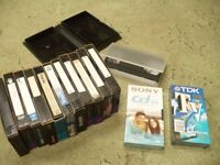 blank or home tv recorded film videos