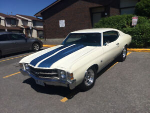 A BEAUTY>>>ALL MUSCLE 1971 CHEVELLE<< CASH &TRADES