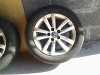 Alloy wheels and tyres 185/60/14