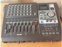8 track CD recorder Tuscan Portastudio DP-Q1FX