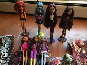 Monster high/ ever after high/ doll sale