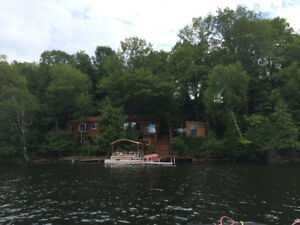 Lake front  3- 4 season cottage for sale