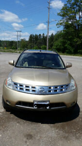 2004 Nissan Murano Letter/Sunroof AS IS !