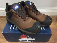 Men's Brown Fully Waterproof Himalayan Safety Shoes UK Size 7 **RRP £63**