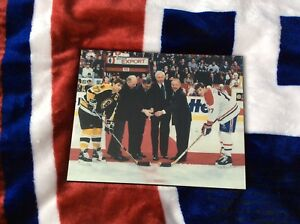 Montreal Canadiens Yvan Cournoyer signed wooden picture