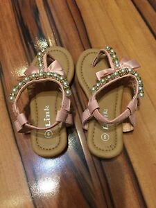 Toddler Girls Shoes. Size 6-Size 9