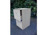 Two drawer small filing cabinet