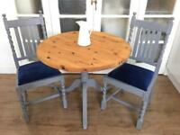 VINTAGE SHABBY CHIC TABLE +CHAIRS FREE DELIVERY LDN🇬🇧