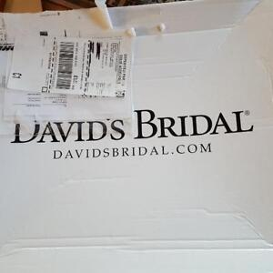 WEDDING DRESS from David's Bridal - SIZE 12. Never worn