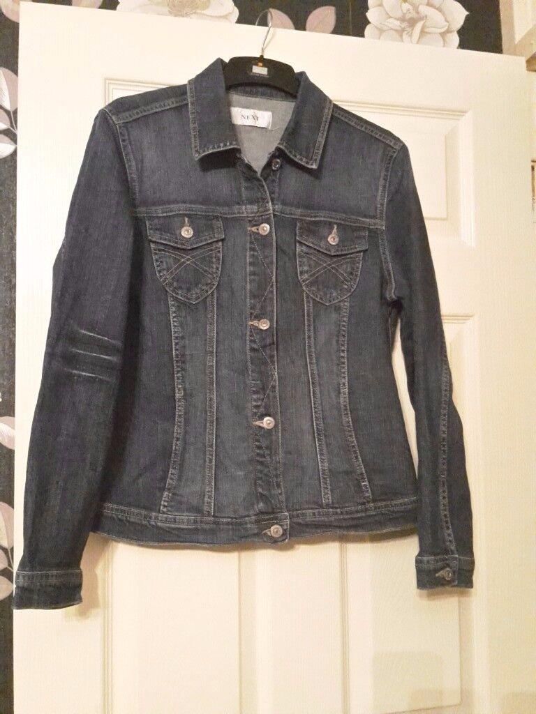 Ladies NEXT denim jacket size 16   in Dagenham, London   Gumtree
