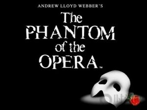 Phantom of the Opera tickets-Sunday Aug 13th at 2pm-main level!