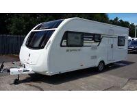 6 Berth Touring Caravan - Swift Sprite Major 6 TD 2016 Model