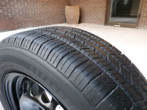 Set of 4 Tires Size P195/60/R15 Like New
