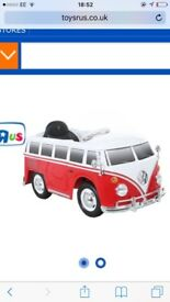 Kids VW Camper electric car