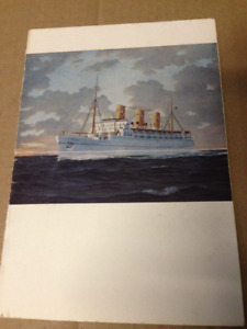 1955 CP EMPRESS OF SCOTLAND SHIP MENU & 1958 EMPRESS OF FRANCE
