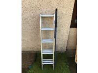 3 Part Loft Ladder with handrail handle