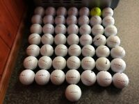 50 mix nike rzn golfballs