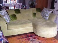 Large sofa ten months old