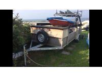 22ftx6ft Trailer ladders builder boat laser topper