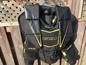 CCM Premier SR chest and ame protector