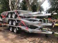 New 4.5 m car transporter trailer