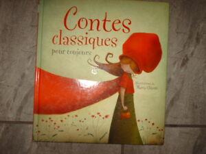 livre contes classiques pour toujours