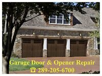 #1 Mississauga Garage Door Service *Low Prices* Call Now!