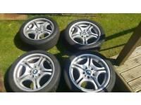 Bmw m sport 17inch alloy wheels