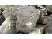 Half round stone coping