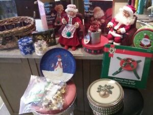 Good Assortment Christmas Decorations ALL FOR $10