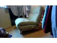 Never been used, Futon, Excellent condition, looks classy.