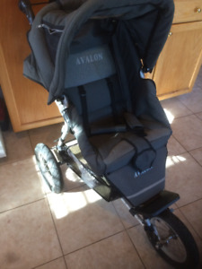 "3 Wheel Stroller/w Rubber air tires made by ""Avalon"" $60 Firm"