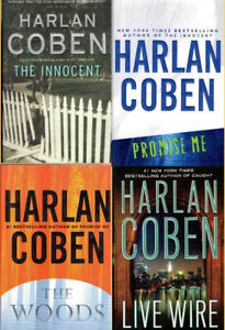 Four HARLAN COBEN Mystery/Adventure 1st Ed. Hard Covers with DJs