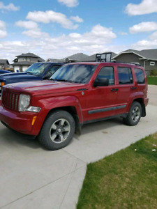 2008 Jeep Liberty 4x4 trail edition