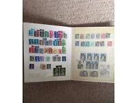 250 GB Queen Elizabeth II postage stamps – used, pre-decimal, decimal, good condition. .
