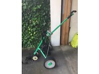 Hill Billy Electric Golf Trolley - MOVING, REDUCED FOR QUICK SALE